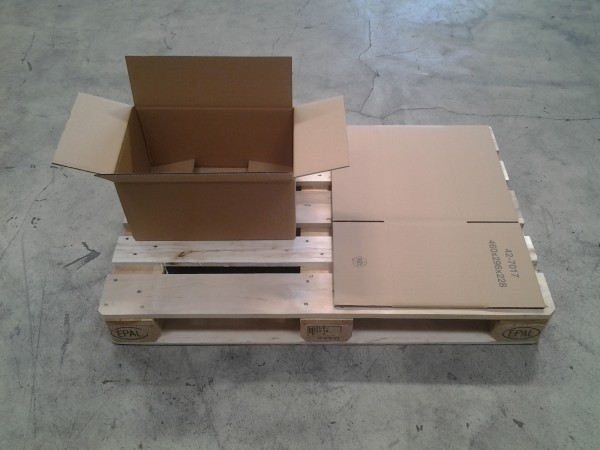 Faltkarton 460 x 296 x 228 mm W2