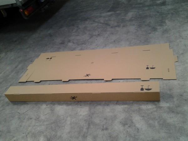 Faltkarton 1958 x 145 x 148 mm W1