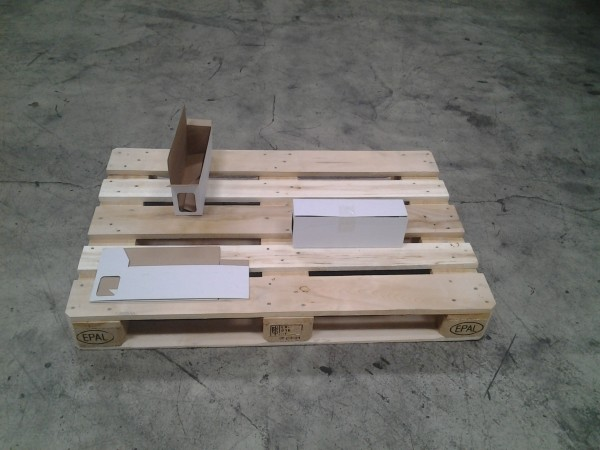 Faltkarton 342 x 84 x 122 mm W1