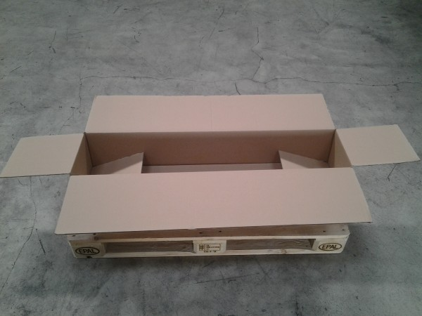 Faltkarton 1150 x 270 x 195 mm W2