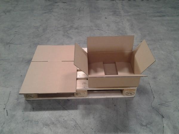 Faltkarton 520 x 380 x 160 mm W2