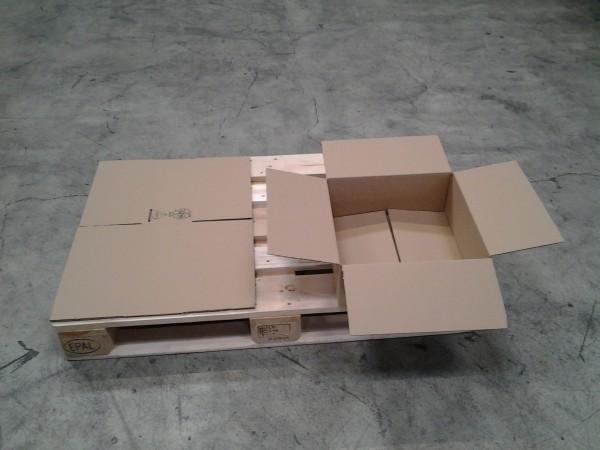 Faltkarton 390 x 380 x 150 mm W1
