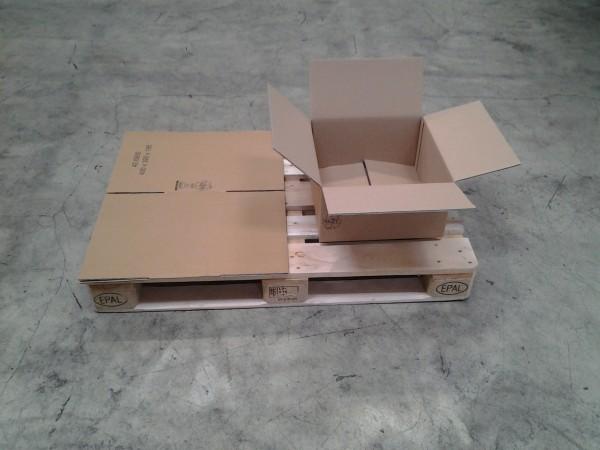 Faltkarton 400 x 390 x 195 mm W2