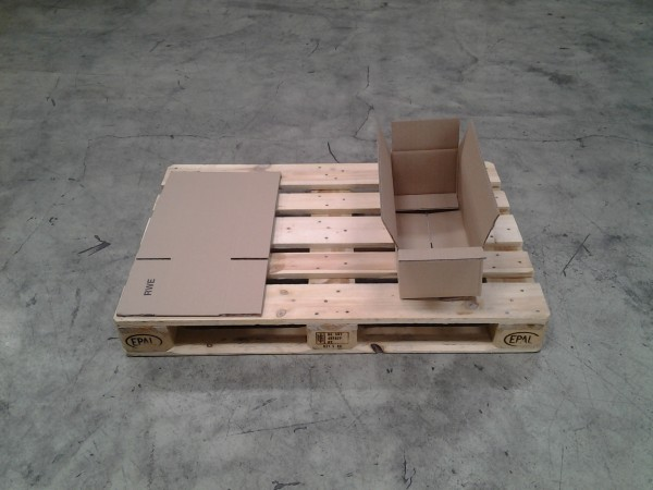 Faltkarton 500 x 215 x 150 mm W2