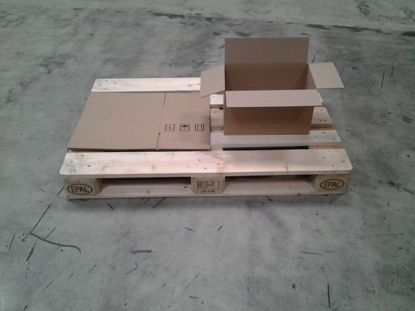 Faltkarton 385 x 230 x 230 mm W1