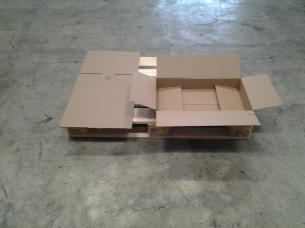 Faltkarton 580 x 345 x 80 mm W1