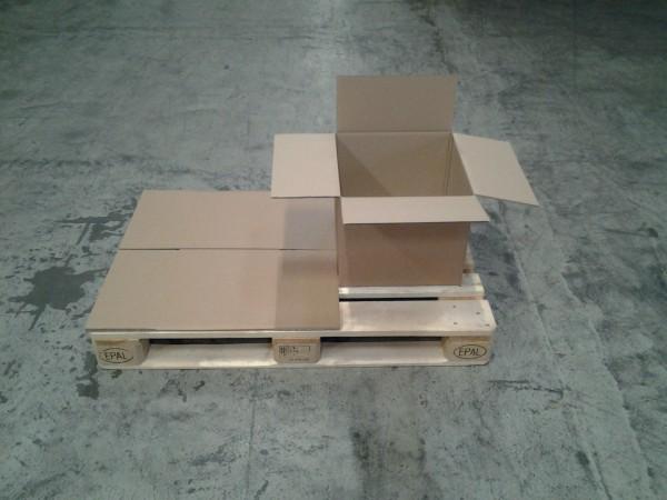 Faltkarton 385 x 385 x 335 mm W2