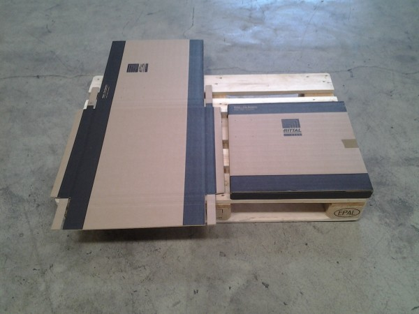 Faltkarton 505 x 505 x 30 mm W2