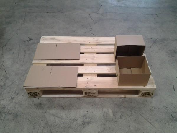 Faltkarton 258 x 210 x 160-300 mm W2