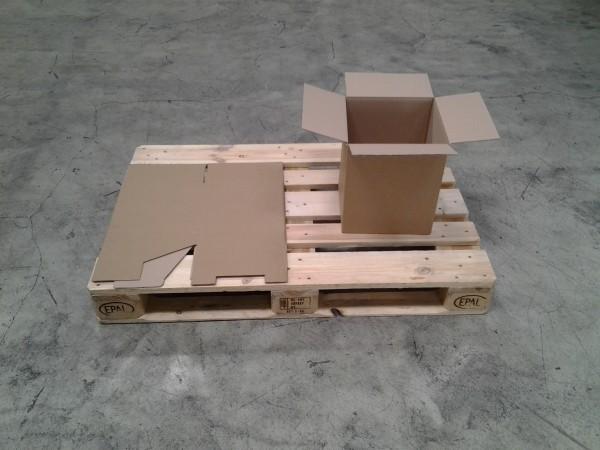 Faltkarton 284 x 284 x 324 mm W1