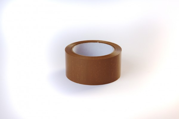 Klebeband 50 mm x 66 m 55 µ Braun leise