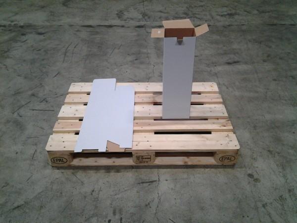 Faltkarton 185 x 160 x 585 mm W1