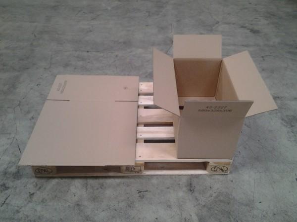 Faltkarton 580 x 320 x 306 mm W2