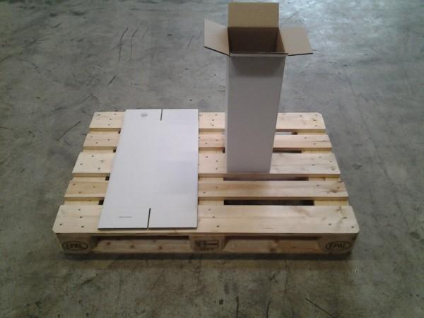 Faltkarton 190 x 190 x 590 mm W2