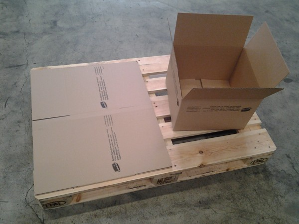 Faltkarton 390 x 355 x 257 mm W1