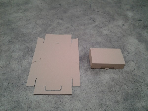 Faltkarton 182 x 112 x 45 mm W1