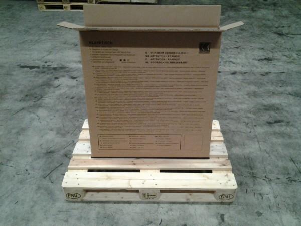 Faltkarton 875 x 130 x 905 mm W2