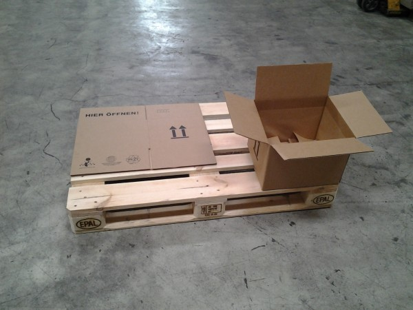 Faltkarton 355 x 304 x 254 mm W1