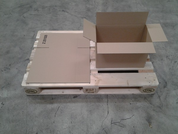 Faltkarton 460 x 255 x 300 mm W1