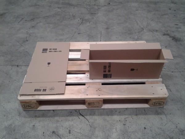 Faltkarton 605 x 130 x 215 mm W1