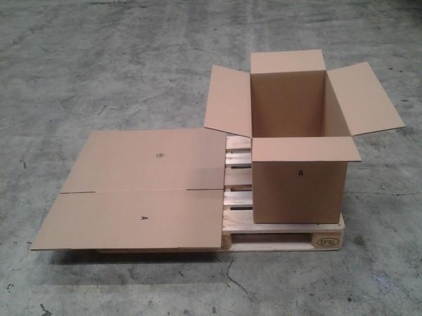 Faltkarton 605 x 390 x 470 mm W2