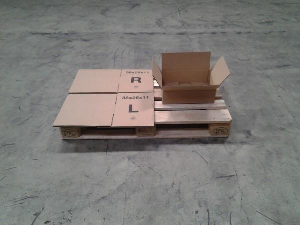 Faltkarton 380 x 280 x 110 mm W2