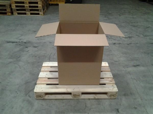 Faltkarton 600 x 500 x 800 mm W2