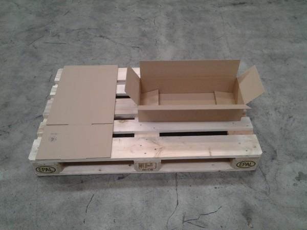 Faltkarton 580 x 240 x 130 mm W1