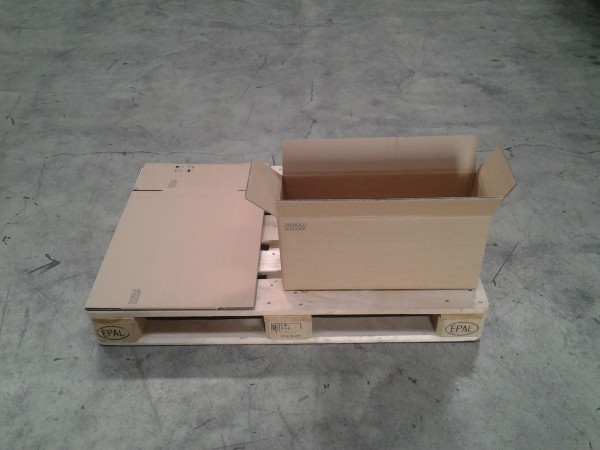 Faltkarton 580 x 205 x 270 mm W2