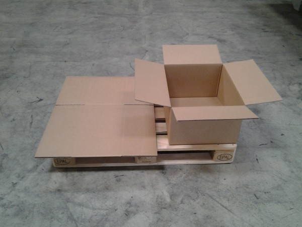 Faltkarton 545 x 435 x 282 mm W2