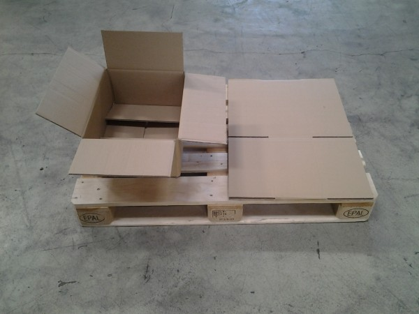 Faltkarton 459 x 347 x 184 mm W2
