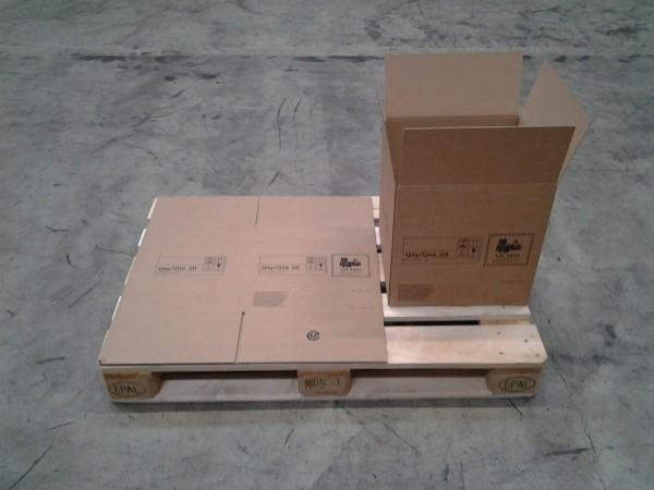 Faltkarton 400 x 360 x 410 mm W2