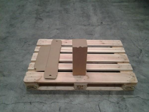Faltkarton 130 x 130 x 360 mm W2