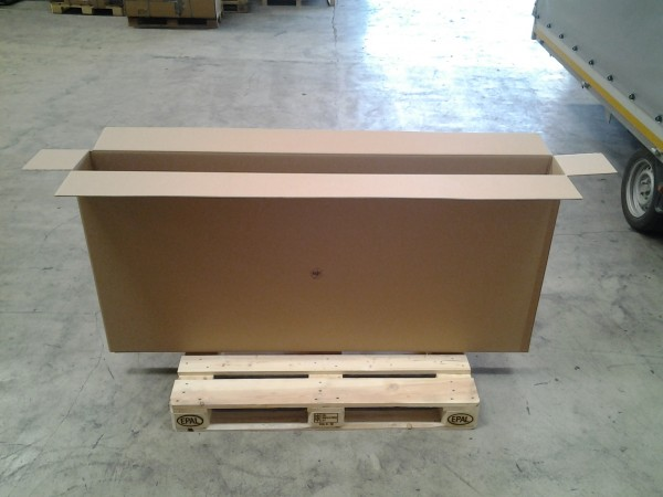 Faltkarton 1765 x 190 x 820 mm W2