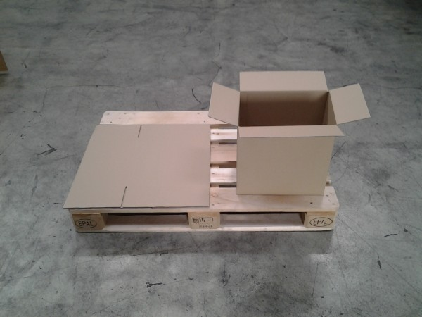 Faltkarton 382 x 252 x 370 mm W2