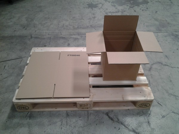Faltkarton 305 x 305 x 340 mm W2
