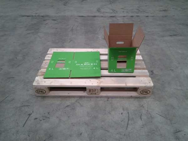 Faltkarton 350 x 270 x 285 mm W1
