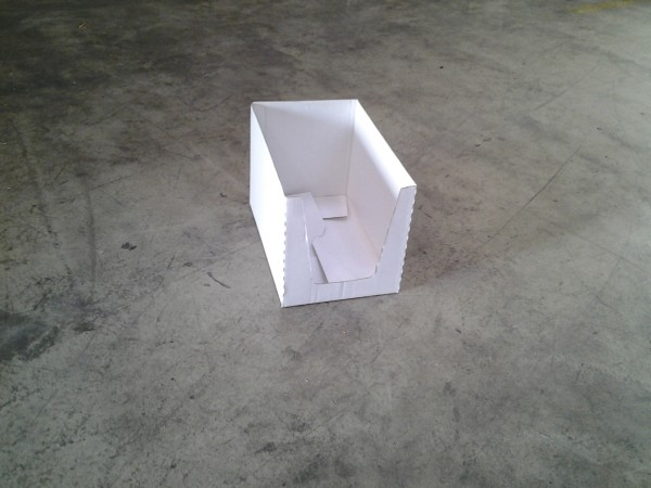 Faltkarton 380 x 240 x 250 mm W1