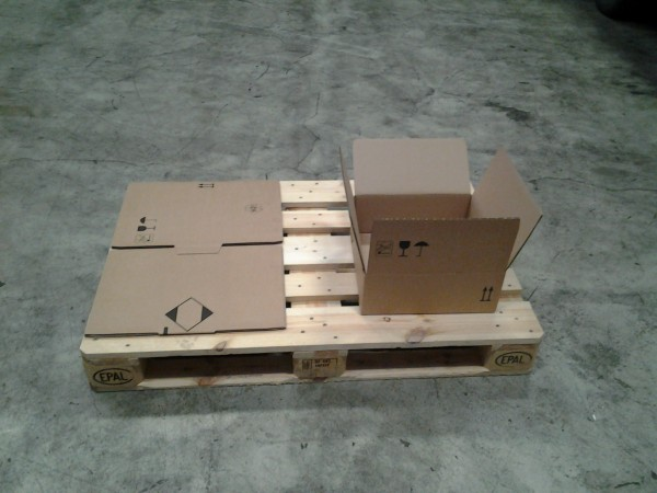 Faltkarton 363 x 361 x 124 mm W2