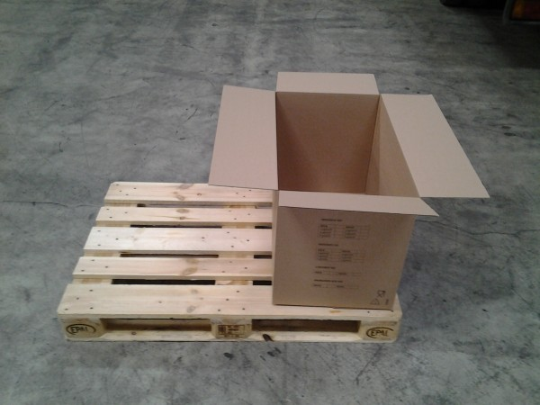 Faltkarton 700 x 420 x 480 mm W1