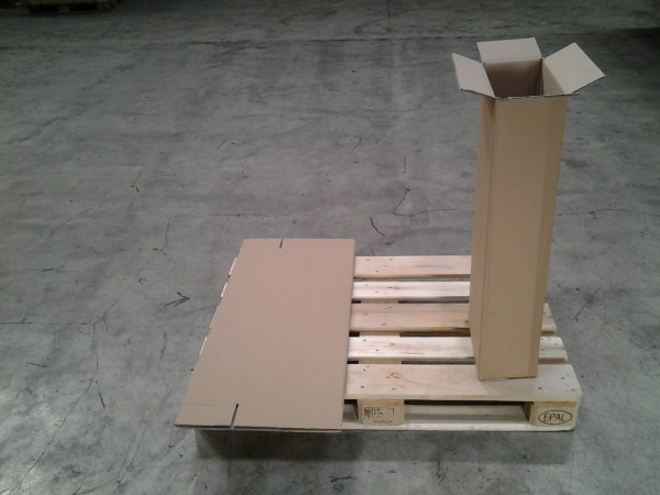 Faltkarton 310 x 165 x 870 mm W2