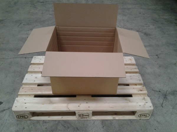 Faltkarton 580 x 440 x 440 mm W2