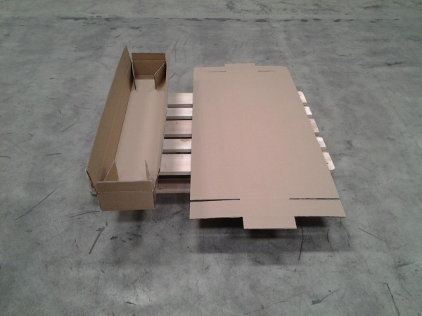 Faltkarton 1300 x 200 x 100 mm W2