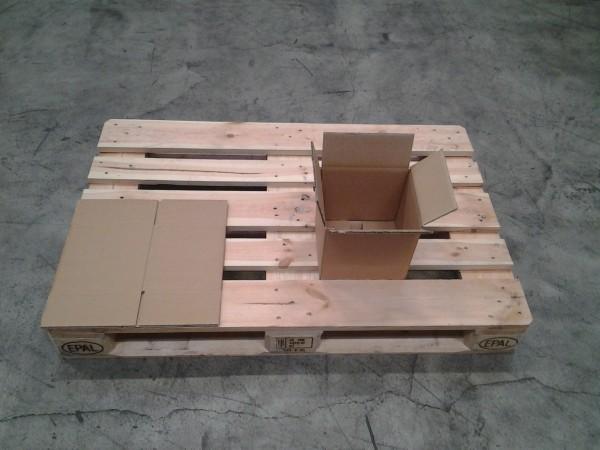 Faltkarton 220 x 185 x 210 mm W2