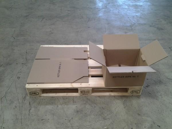 Faltkarton 385 x 285 x 245 mm W2