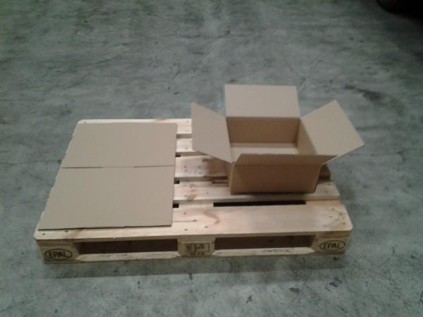 Faltkarton 350 x 350 x 130 mm W2