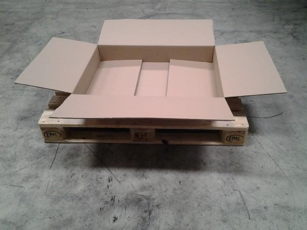 Faltkarton 845 x 635 x 125 mm W2
