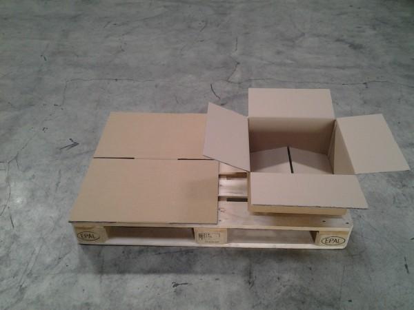 Faltkarton 400 x 400 x 200 mm W2