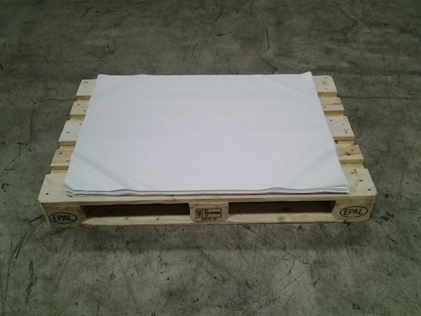 Packseide 750 x 1000 mm weiss