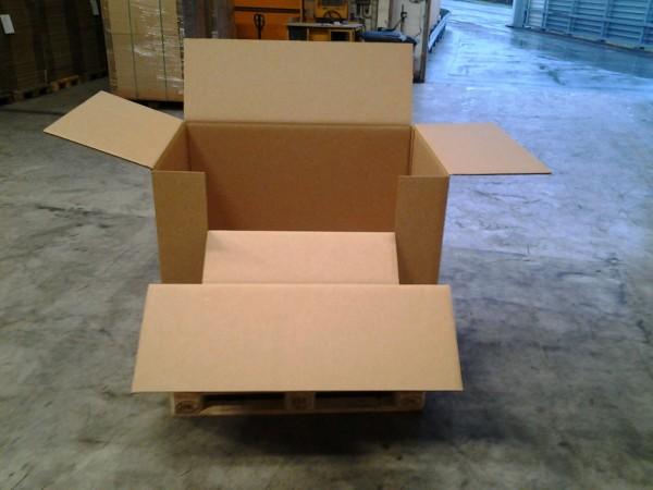 Faltkarton 1170 x 830 x 1000 mm W3